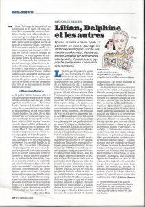Histoire de Belgique à colorier dans Le Vif 5 mai 2006