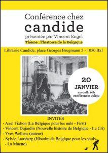 20 janvier 2011 Conférence Histoire de belgique CAndide