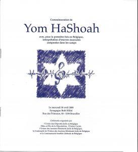 Yom Ha Shoah 30avril 2008