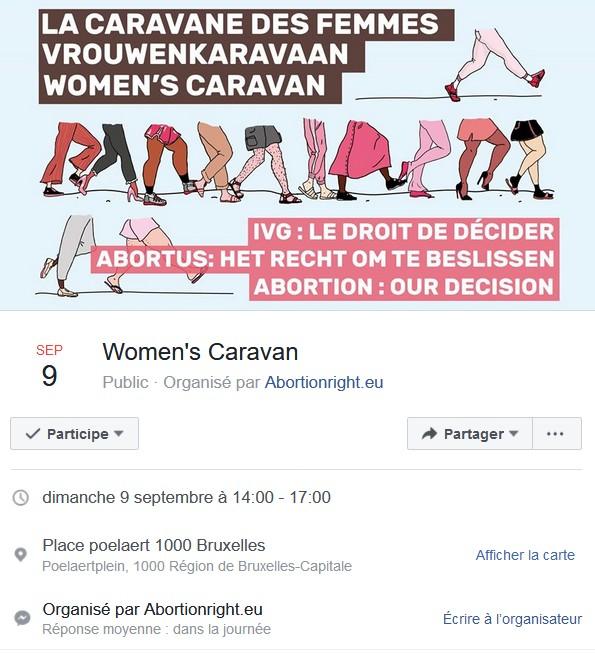 RDV : La caravane des femmes